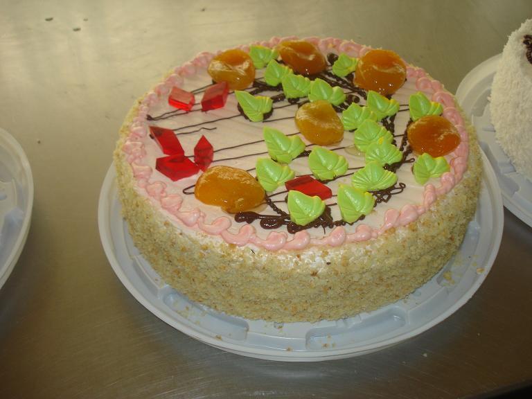 Торт Абрикоска