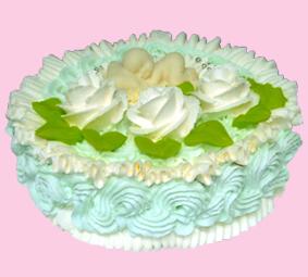 торт Малыш голубой