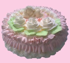 торт Малыш розовый