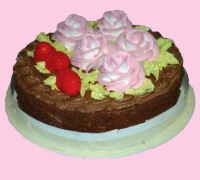 торт МИР шоколадный